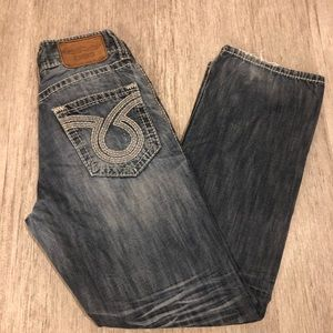 Buckle big star pioneer bootcut jeans 33R blue
